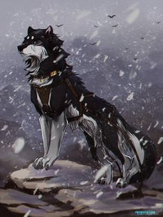 I LOVE this wolf! It makes me think of Balto. / Wolves / (Shadow by AgentWhiteHawk.deviantart.com on @DeviantArt)