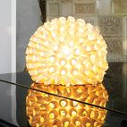 The glowing anemone-like lamp is from Vinçon in Barcelona.  Photo by Gunnar Knechtel.