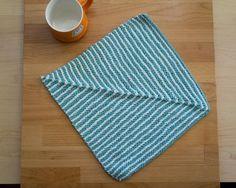 Ridge Washcloth.. Free pattern!