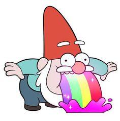 Rainbow Vomiting Gnome | Unisex T-Shirt