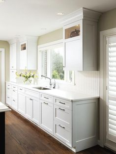 Kitchen Cabinet Door Ideas and Options + HGTV Pictures : Rooms : Home & Garden Television
