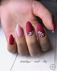 New nails diy red nailart 62 Ideas Manicure Nail Designs, Nail Manicure, Diy Nails, Cute Nails, Manicure Ideas, Luxury Nails, Elegant Nails, Nagel Gel, Perfect Nails