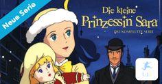 Neu: Die kleine Prinzessin Sara – Jetzt bei Kixi! – Nur für kurze Zeit im Club! – Kinderkino