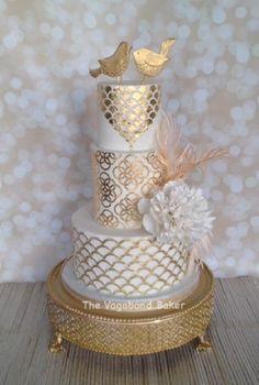 The Vagabond Baker- wedding cake