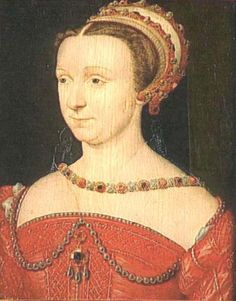 1550 (after) Anna d'Este by ? of the French school (Versailles) | Grand Ladies | gogm