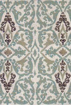 Hand Printed Fabric Design, Istanbul by Pintura Studio