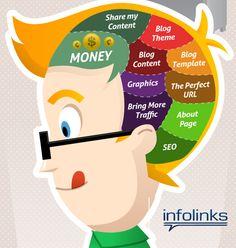 ¿Qué tiene un Blogger en el cerebro?