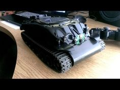 Raspberry Pi controlled RC tank via PS3 controller with video stream - YouTube