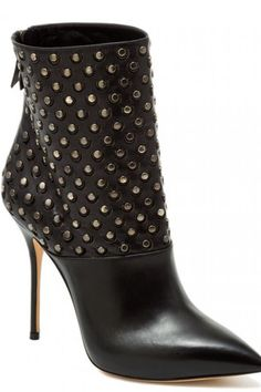 $649 - Casadei Studded Ankle Boot