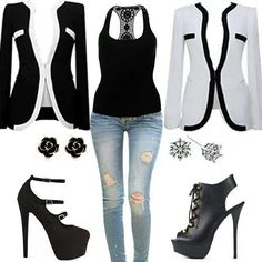 Blazers & shoes