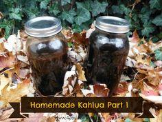4 You With Love: Homemade Kahlua Part 1
