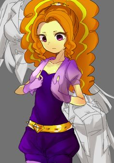 Adagio dazzle  Shhhh it doesn't matter about that Dagi, you're perfect :'3