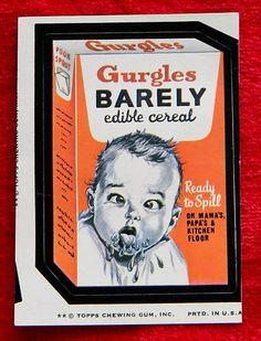 1970's Gerber baby food