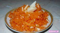 Surówka z marchewki na słodko i na ostro