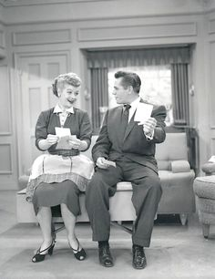 I love lucy, lucille ball, desi arnaz favorite actors in I Love Lucy Show, My Love, Lucille Ball Desi Arnaz, Lucy And Ricky, Actrices Hollywood, Great Love Stories, Famous Couples, Classic Tv, American