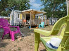 Camping Belle Plage // Ploemeur // Morbihan Bretagne // Mobil-home