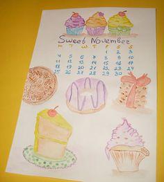lovecold art - november.13 calendar