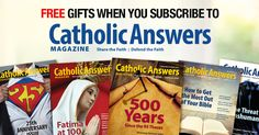 It's June, and that means it's time for our annual Catholic Answers Magazine Subscription Drive!  For a limited time we're offering you some very special pricing and gifts when you subscribe.  Subscribe For 1 year And we'll give you $10 off the annual subscription price.  Subscribe For 2 years And we'll give you $20 off the annual subscription price PLUS we'll send you a custom Catholic Answers 4GB flash drive containing 5 audio presentations you won't find anywhere else, including talks by…