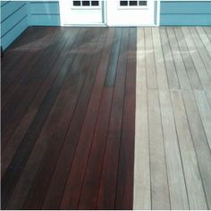 deck-refinishing - the difference between  deck sealers and stains