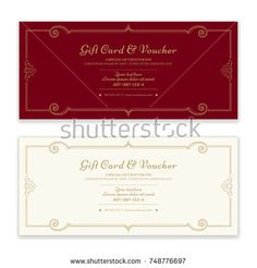 Gift Voucher Gift Certificate Or Coupon Template In Sport Theme