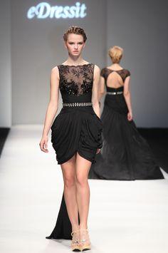 eDressit 2013 P/V Fashion Show Negro Vestido de Coctel Vestido de Fiesta Corto (F04130600)