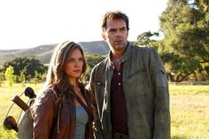 Revolution, everything changes after the Blackout.  Billy Burke, Tracy Spiridakos