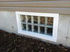 A traditional basement window installation. If you or someone you know is looking to replace their basement windows with a new energy efficient glass block window, please contact Masonry & Glass Systems in St. Louis. They specialize in replacement basement windows, security windows and all types of replacement windows. For more information, please check out their website at http://www.masonryglass.com or call 314-535-6515