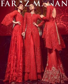 When it comes to crossing the border, Lahore-based Faraz Manan has successfully made his way into the wardrobes of Bollywood's chicest set. Pakistani Couture, Indian Couture, Pakistani Outfits, Indian Outfits, Indian Clothes, Colorful Fashion, Asian Fashion, Ethnic Fashion, Faraz Manan