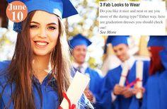 Graduation Dresses  3 Fab Looks to Wear: www.teelieturner.com #fashion
