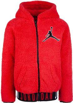 a3a8b7776275d1 Big Boys Air Jordan Jumpman Zip-Front Hoodie