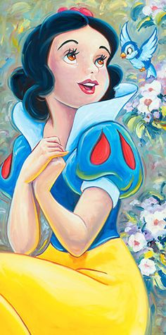 William Silvers - Snow White and the Seven Dwarfs - Blue Bird - world-wide-art.com