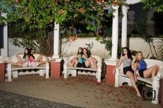 Pinacoteca Benedicto Calixto - Santos - SP #ballet #flowers #girls #night #pinacotecadesantos