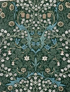 Women In Art History — cavetocanvas: William Morris, Blackthorn, 1892