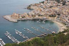 Castellammare del Golfo, near Trapani in Sicily