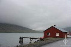 Photographic Journey by Baltic Verse | 'Fisherman House in Eskifjörður, Iceland'