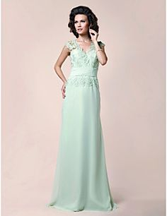 Lanting A-line Plus Sizes / Petite Mother of the Bride Dress... – USD $ 123.49