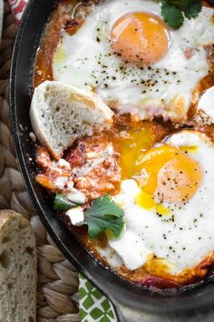 Shakshuka Eggs/eggs in purgatory