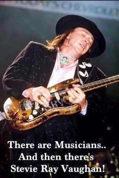 ...and then there's Stevie Ray Vaughan