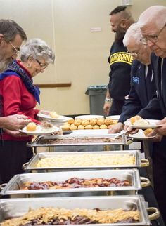 Veterans shed tears of joy after a complimentary lunch at Morehead State.