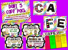CAFE+and+Daily+5+Pack+from+Ginger+Snaps+on+TeachersNotebook.com+-++(45+pages)+
