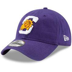 competitive price d1ce9 416d8 Men s Phoenix Suns New Era Purple Team Logo Back Half Series 9TWENTY  Adjustable Hat,