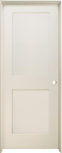 Mastercraft 32 x 80 maple flat 2 panel prehung interior door mastercraft 32 x 80 primed 2 panel stile and rail int door prehung interior planetlyrics Choice Image