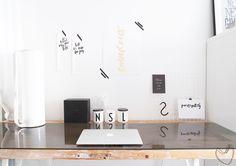 DIY-muistitaulu työpöydälle // beauty of life
