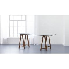 "foundry 80"" trestle table 