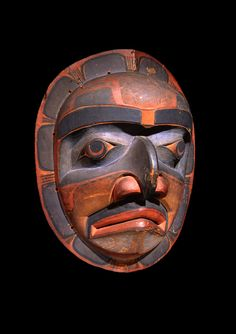 Kwakiutl Mask - now in the collection of the Private Collection - image 1