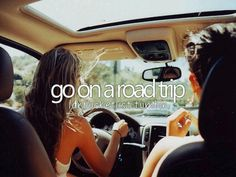 Road trip with friends only