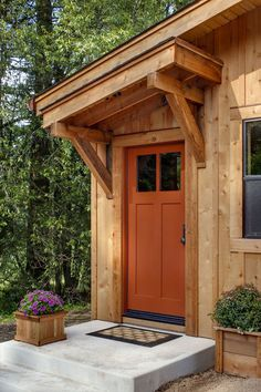 Smaller side doors lead to a music room, a wood storage room, a finishing room and an office.