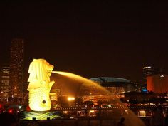 Merlion - #Singapore #travel