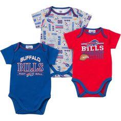 Baby Bills Fan Onesie 3 Pack