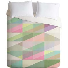 Duvet cover in pastel ==